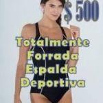 Malla Entera Espalda Deportiva Talles S/M/L/XL Totalmente Forrada $ 500