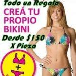 Arme su Bikini en Lycra Tricot Premium Desde $ 150 la Pieza