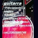 Clases de guitarra, ukelele, piano