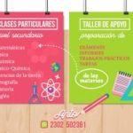 Clases particulares y taller de apoyo