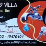 Servicio de Plomeria Gas Electricidad Cloacas 2302470404