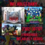 Alquiler de juegos y inflables dany!!! Consultas por precios y combos al 2302307121 o al privado