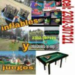 ALQUILER DE JUEGOS Y INFLABLES DANY!!! CEL: 2302-307121
