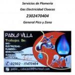Servicio de Plomería Gas Electricidad Cloacas Desagües 2302470404