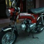 Vendo moto Zanella Dax .