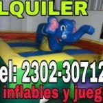ALQUILER DE JUEGOS Y INFLABLES DANY!!! CEL: 2302307121 O VIA FACEBOOK