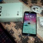 Vendo CELULAR LG K 10 2017 (nuevo, sin ningún uso)