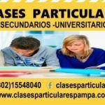 Clases  particulares Secundario  y Universitarios