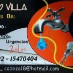 Plomería Gas Electricidad Cloacas 2302470404