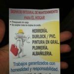 Trabajos de HERRERIA Y PINTURA