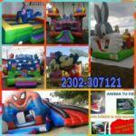 ¡¡¡ALQUILER DE JUEGOS Y INFLABLES DANY!!! CEL: 2302307121 O VIA FACEBOOK