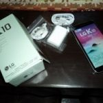 Vendo Celular LG K 10 (2017) liberado NUEVO SIN USO a $ 4.800.-