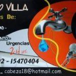 Plomería Gas Electricidad Cloacas 02302 - 15470404