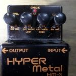 Vendo Boss Hyper Metal Hm3 Distorción