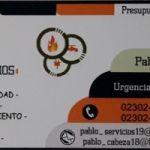 Plomería Gas Electricidad Cloacas Desagües 02302 - 15517007 / 15470404