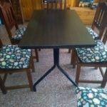 Vendo mesa de caño y Formica