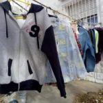 Feria de ropa, nuevo y usado, calle 22 casi esquina 21
