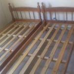 Vendo dos camas de una plaza