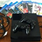 PS4 Consola + 7 Juegos Incluidos!!!