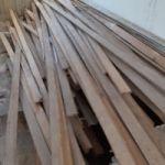 Listones madera piso