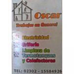 ¡Trabajos en General Oscar!🛠️⚒️🎥📸