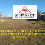 SCHWERDT-GESTION INMOBILIARIA VENDE TERRENO ZONA SUR