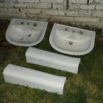 Vendo lavabo con columna