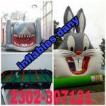 ALQUILER DE JUEGOS Y INFLABLES DANY!! CEL:2302-307121 O VIA FACEBOOK