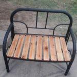 Vendo sillon artesanal hecho con espaldar de cama