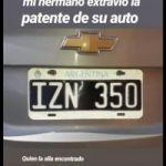 Perdi patente IZN350