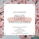¡¡¡CLASES PARTICULARES DE INGLES!!!