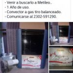 Vendo Calefactor en Metileo
