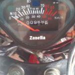 Vendo moto Zanella Hot 90 modelo 2017 con 968 km reales