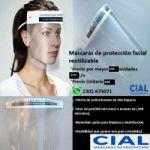 Vendo mascaras de protección facial