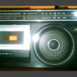 Radiograbador antiguo Sanyo