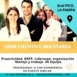 Buscamos Líder Ejecutivo Multitasking para General Pico