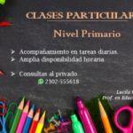 Clases particulares - Nivel Primario