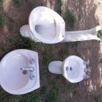 Vendo juego d baño  color blanco