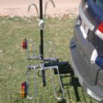 Porta bici para enganche