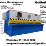 Plegadoras y Guillotinas Hidraulicas