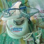 Vendo nebulizador nuevo con poco uso con  dos mascarillas una grande y una mediana en perfecto estado .