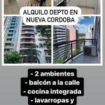 Alquilo depto amoblado en Nueva Córdoba