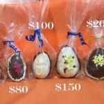 Huevos de pascuas desde $50