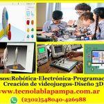 CLASES DE ROBÓTICA ELECTRÓNICA Y PROGRAMACIÓN