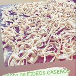VENTA DE FIDEOS CASEROS