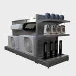 Góndola Tecno, para exibir productos tecnológicos