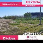 Terreno en Venta, calle 551 y 508, medidas: 15 x 50 mts