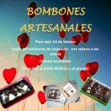 Cajas de bombones artesanales para el 14 de febrero