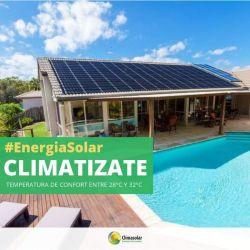 Climatizamos piletas con energía solar