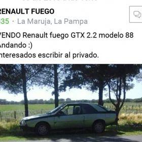 Renault fuego GTX 2.2
